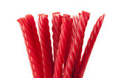 Bright Red Licorice Candy — Stock Photo