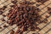 Organic Dried Raw Raisins — Stock Photo