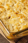 Homemade Macaroni and Cheese — Stock Photo