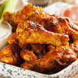 Hot and Spicey Buffalo Chicken Wings — Stock Photo #23507329