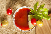 Spicy Bloody Mary Alcoholic Drink — Stock Photo