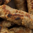 Organic Cooked Maple Breakfast Sausage — Stock Photo