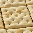 Organic Whole Wheat Soda Crackers — Stock Photo #23891163