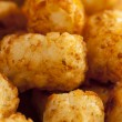 Organic Fried Tater Tots - Stock Photo