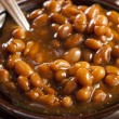 Homemade Barbecue Baked Beans — Stock Photo