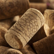 Rustic Brown Wine Corks — Stock Photo