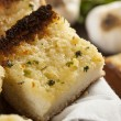 Homemade Crunchy Garlic Bread — Stock Photo #25152589