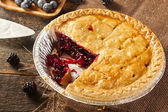 Homemade Organic Berry Pie — Stock Photo