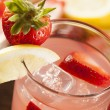 Refreshing Ice Cold Strawberry Lemonade — Stock Photo #26006545