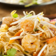 Homemade Asian Pad Thai — Stock Photo