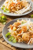 Homemade Asian Pad Thai — Stock Photo