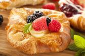 Homemade Gourmet Danish Pastry — Stock Photo