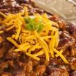Stock Photo: spicy homemade chili con carne soup