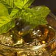Homemade Gourmet Mint Julep — Stock Photo #28875373