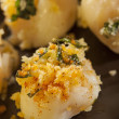 Homemade Breaded Scallop Seafood Dish — Stock Photo #29286533