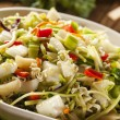 Asian Bok Choy and Ramen Salad — Stock Photo