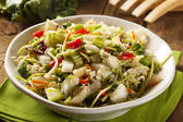 Asian Bok Choy and Ramen Salad — Stock Photo