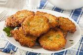 Homemade Traditional Potato Pancake Latke — Stock Photo