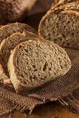 Fresh Homemade Whole Wheat Bread — Stock Photo
