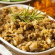 Homemade Thanksgiving Stuffing — Stock Photo