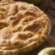 Homemade Organic Apple Pie Dessert — Stock Photo