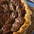 Homemade Delicious Pecan Pie — Stock Photo