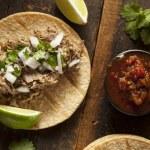 Traditional Pork Tacos — Stock Photo #34562273