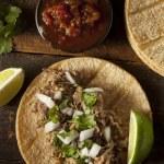 Traditional Pork Tacos — Stock Photo #34562301