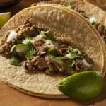Traditional Pork Tacos — Stock Photo #34562331