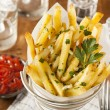 Stock Photo: Garlic and Parsley French Fries