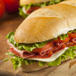 Homemade Italian Sub Sandwich — Stock Photo #35864501