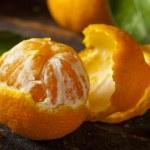 Resfreshing Organic Mandarin Orange — Stock Photo #36142005
