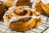 Homemade Cinnamon Roll Pastry — Stock Photo