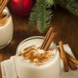 Stock Photo: Homemade Festive Cinnamon Eggnog
