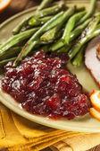 Red Homemade Cranberry Sauce — Foto de Stock