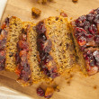 Festive Homemade Holiday Fruitcake — Stock Photo #37450759