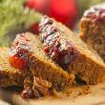 Festive Homemade Holiday Fruitcake — Stock Photo #37450837