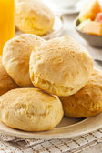 Homemade Hot Buttermilk Biscuits — Stock Photo