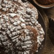 Chocolate Crinkle Cookies with Powdered Sugar — Stock Photo #38918615