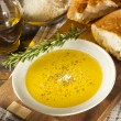 ItaliBread with Olive Oil for Dipping — Stock Photo #38918871