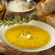 ItaliBread with Olive Oil for Dipping — Stock Photo #38918925