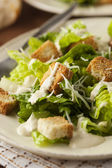 Healthy Green Organic Caesar Salad — Foto Stock