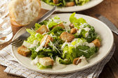 Healthy Green Organic Caesar Salad — Stock Photo