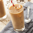 Stock Photo: Fancy Iced Coffee with Cream