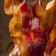 Crispy Organic Unhealthy Bacon — Stock Photo