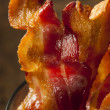 Foto de Stock  : Crispy Organic Unhealthy Bacon