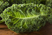 Healthy Raw Green Kale — Stock Photo