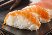 Healthy Japanese Nigiri Sushi — Stock Photo