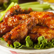 Barbecue Buffalo Chicken Wings — Stock Photo #41140881