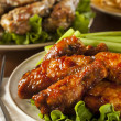 Barbecue Buffalo Chicken Wings — Stock Photo #41140885